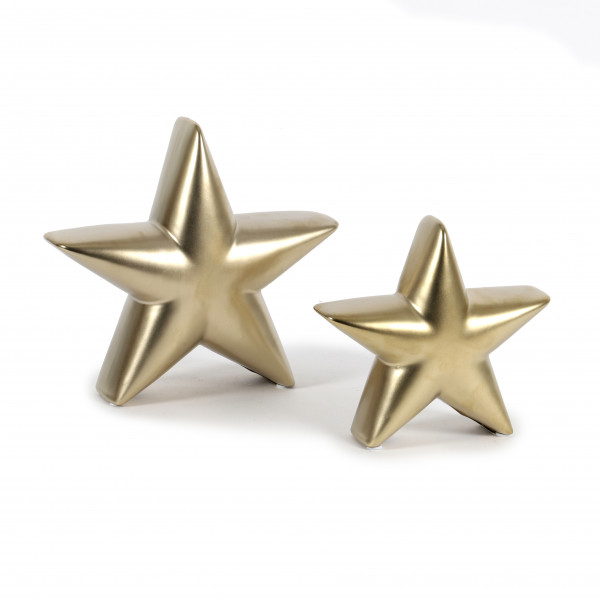 Keramik Stern Stella stehend
