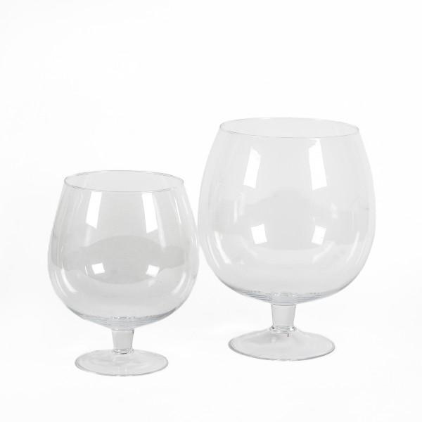 Glaskelch Brandy H 30 cm klar