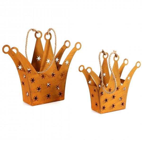 Krone zum Befüllen und Hängen