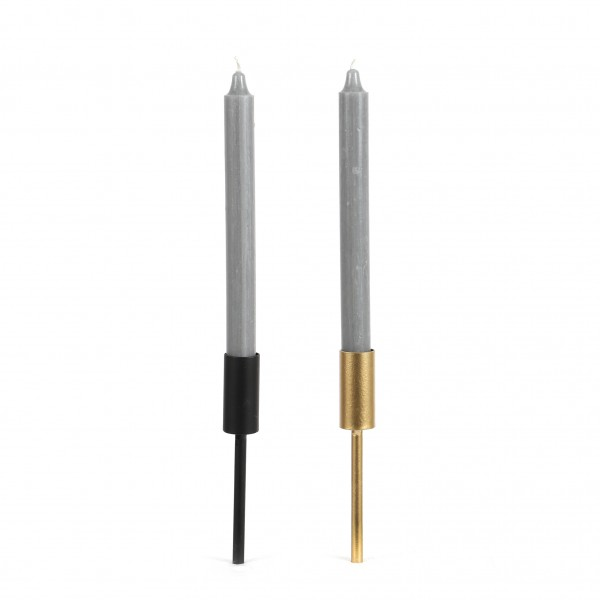 Stabkerzenhalter Metall 18x3 cm