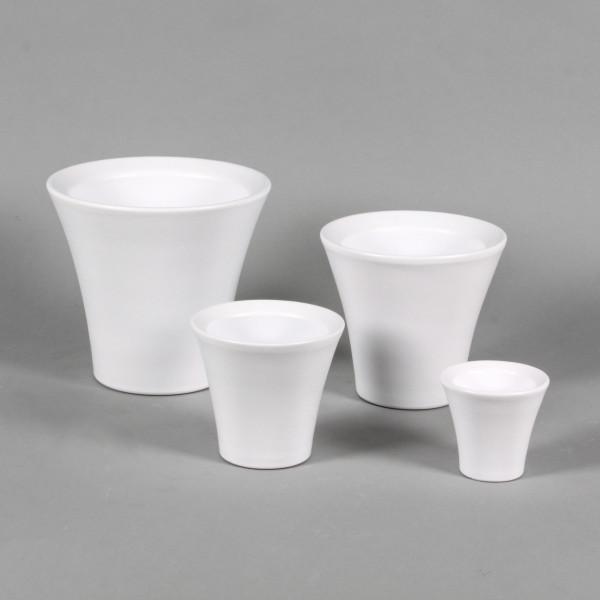 Keramik-Orchideen-Topf