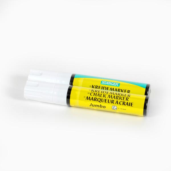 Deco Marker Flüssigkreide 2-15 mm weiß