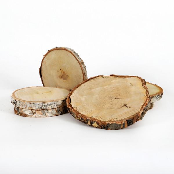 Birkenscheibe rund