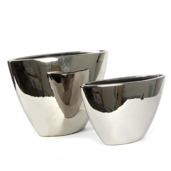 Keramik-Vase Kiel oval