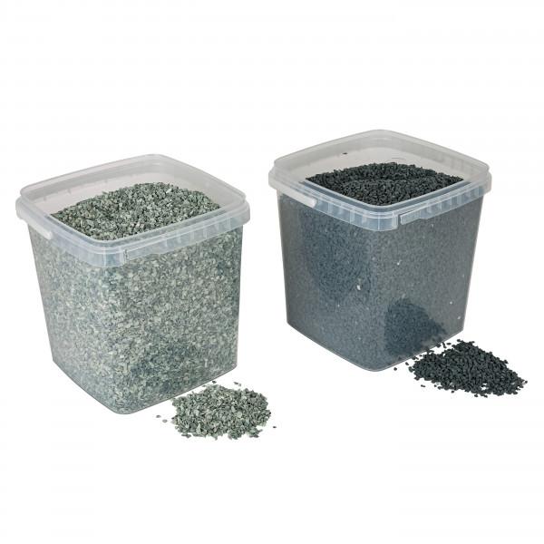 Natursteine 1-4mm im 5 Liter E imer