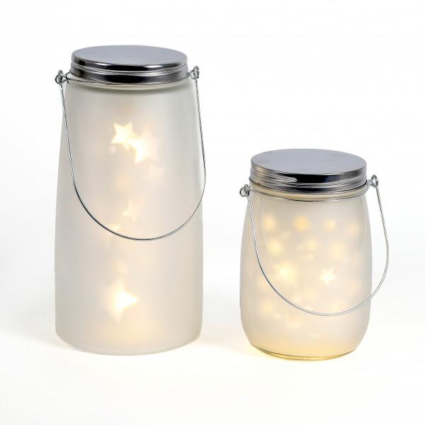 LED Glas mit