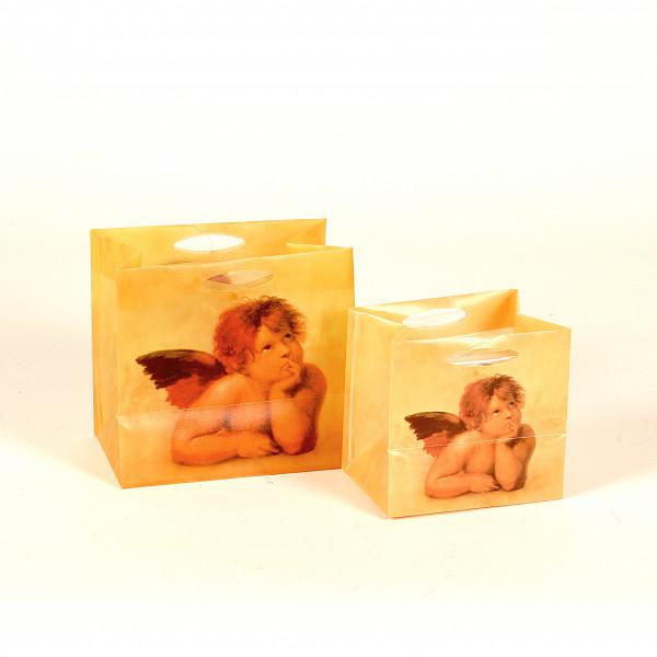 PVC-Flower-Bag mamoriert mit Engel