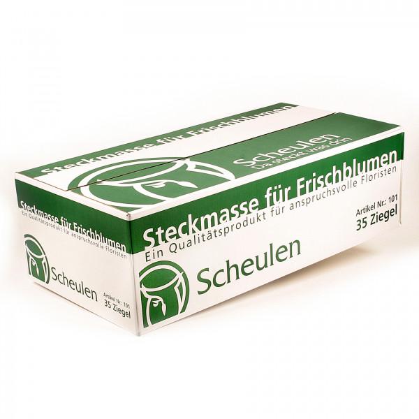 FRISCH-STECKSCHAUM EIGENMARKE Karton mit 35 Ziegeln