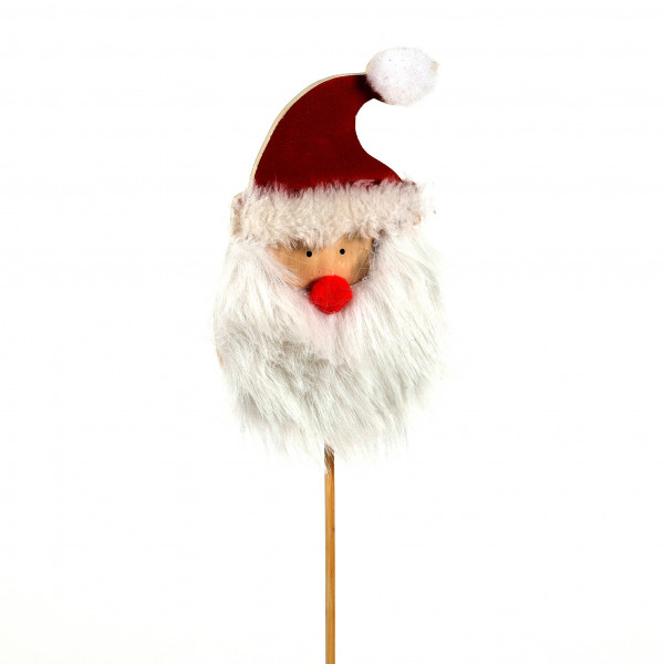 Stecker Santa Holz, am Pick 17,5x45 cm