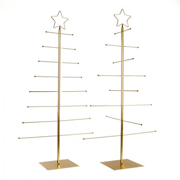 Metal-Deko Baum für Hängeartikel auf Fuß