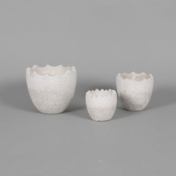 Keramik-Pflanzei,stehend
