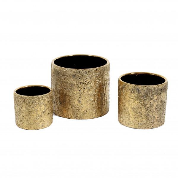 Keramik Zylinder-Topf