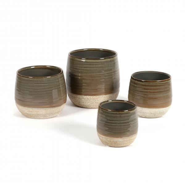 Keramik Topf Marlon bauchig