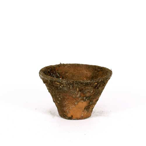 Resine-Topf Orginal natur D.16,5xh.11,5cm