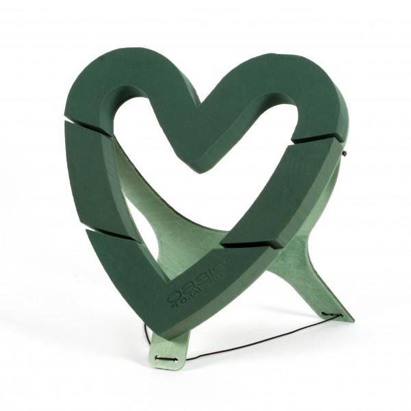Oasis Bioline Herz offen 43,5x 43x4 cm mit Aufsteller