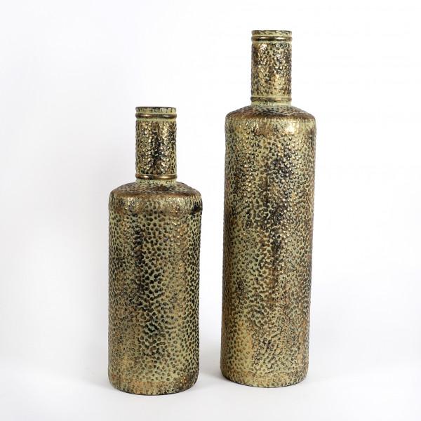 Metall Flasche Duke rund