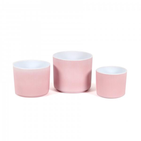 Keramik Zylinder-Topf Henry