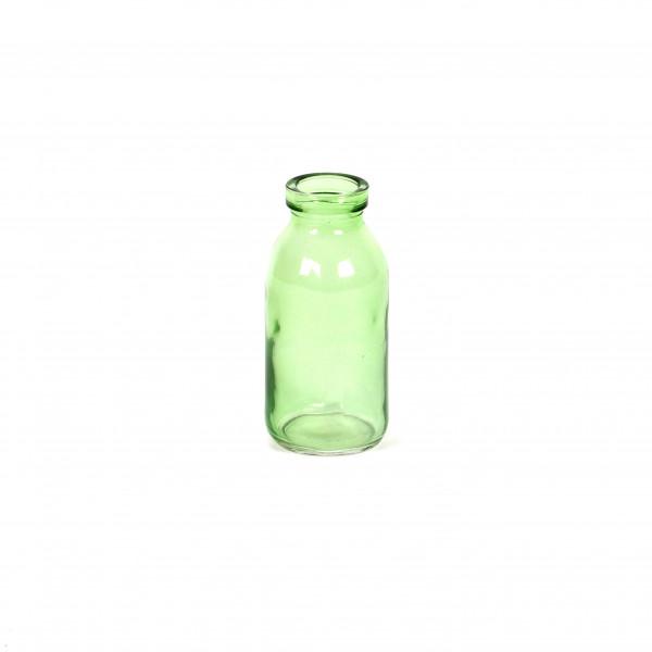 Glasflaschen grün H 10 cm D 5 cm