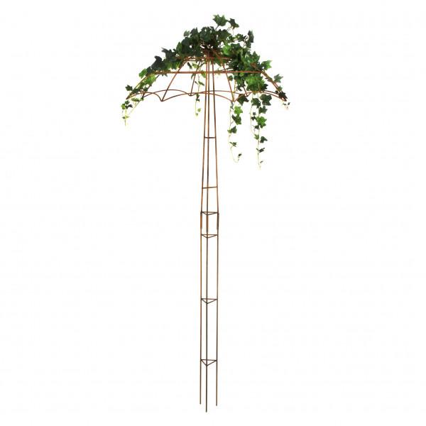 Ranke Schirm (3-tlg.) 2,2 m Eisen rost