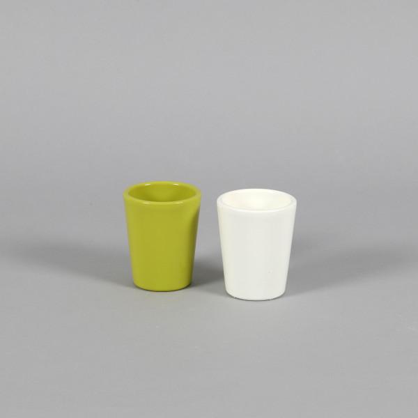 Keramik-Vase, mini, 7 cm
