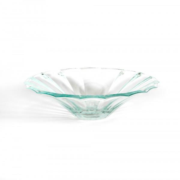 Glasschale DIVO D 34 cm H 9 cm schwere Qualität klarglas