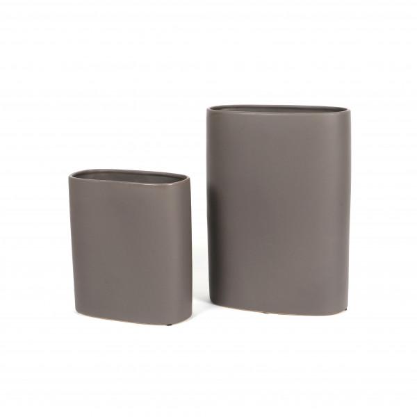 Keramik Vase Laura, oval