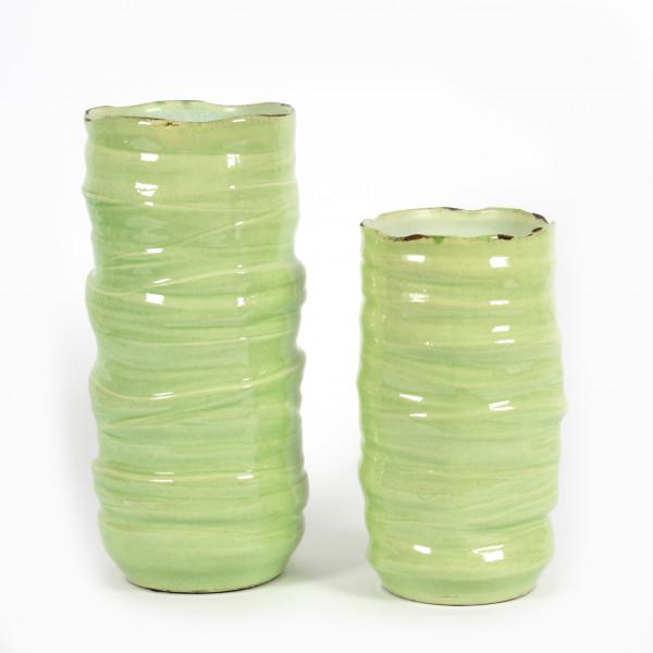 Keramik-Vase Malaga