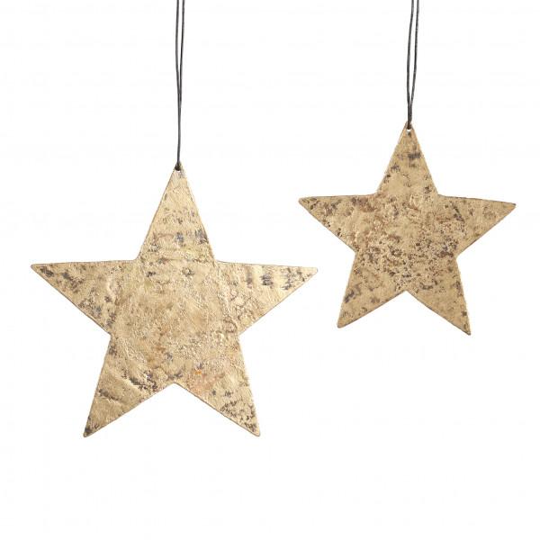 Stern flach zum hängen Arundo Metall