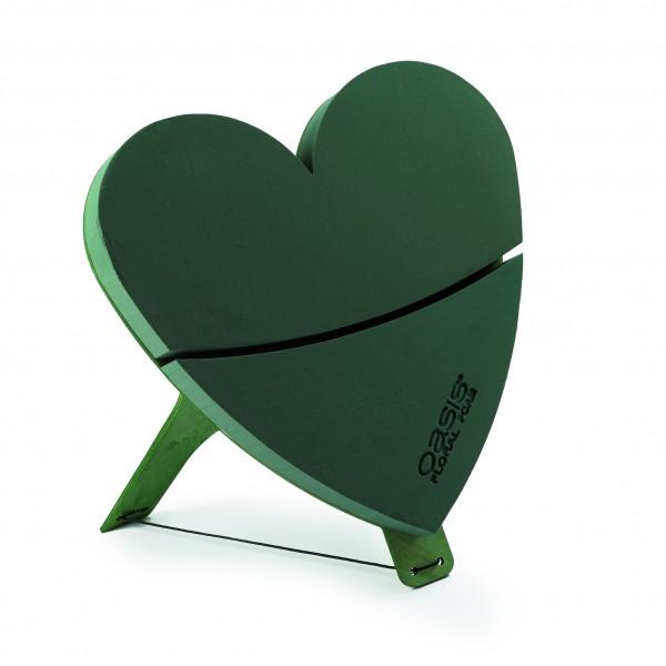 Oasis Bioline Deko Herz Mini 45cm mit Aufsteller