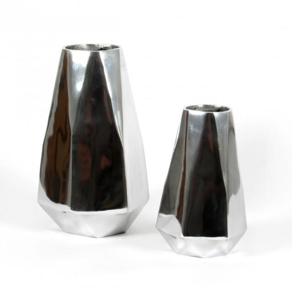 Vase Glamour Alu poliert