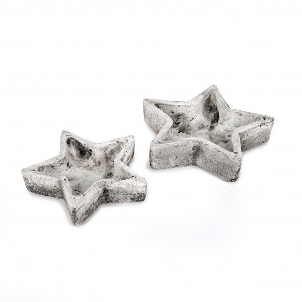 Keramik Stern-Schale Rustiko
