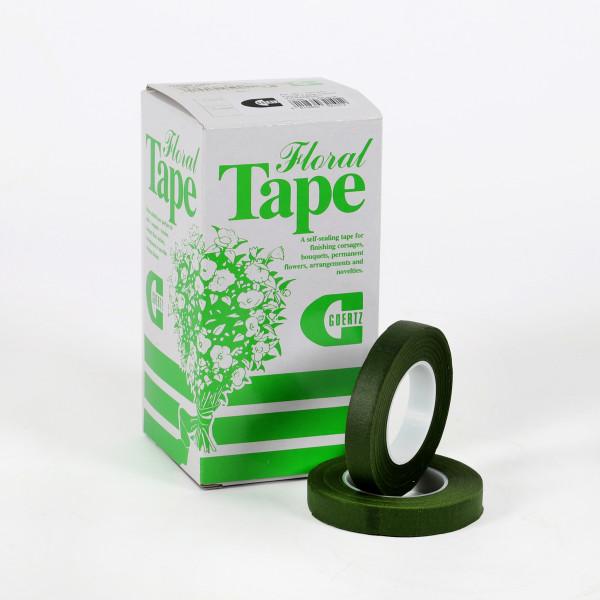 FLORAL TAPE(STEM-TEX) grün 13 MM x28m