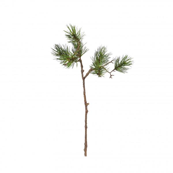 Kiefernzweig Indy x 7, 54 cm natur-grün