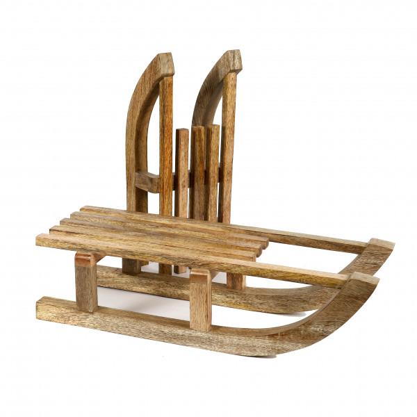 Schlitten Lucidatio Holz