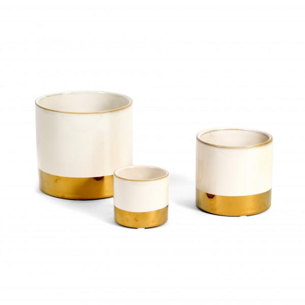 Keramik Zylinder-Topf Juna
