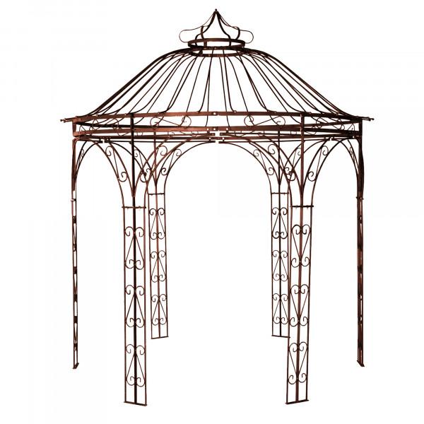 Pavillon, Metall, rost, 300x30 0x320 cm / 135 kg