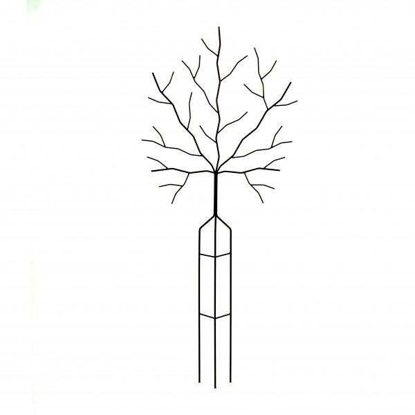 Rankgitter Baumform 1,7 m Eisen