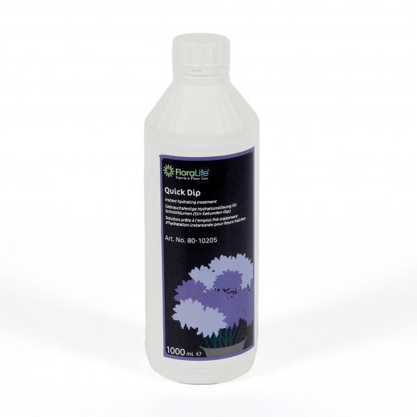 Oasis FLORALIFE Quick Dip 1 L. Flasche Lebensverlängerung von Frischblumen