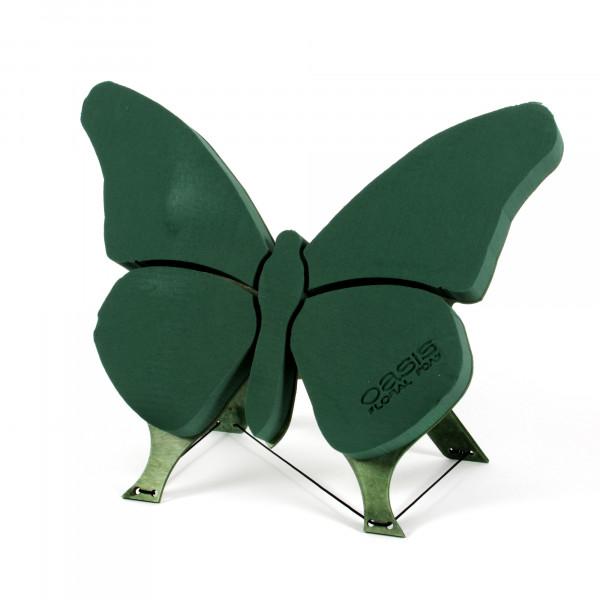 OASIS Floral Foam Bioline Schmetterling mit Holzboden 56x40x6cm