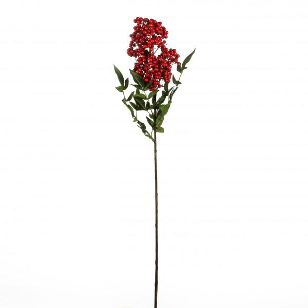 Beeren-Zweig Nandina , 81 cm, rot