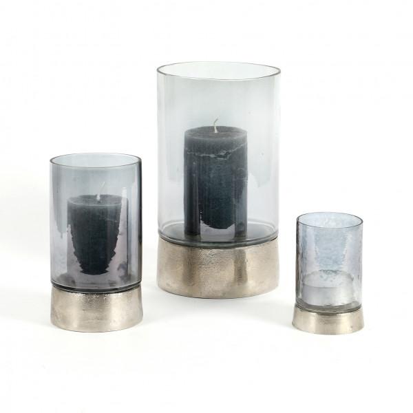 Windlicht Tangero Alu-Glas, anthrazit