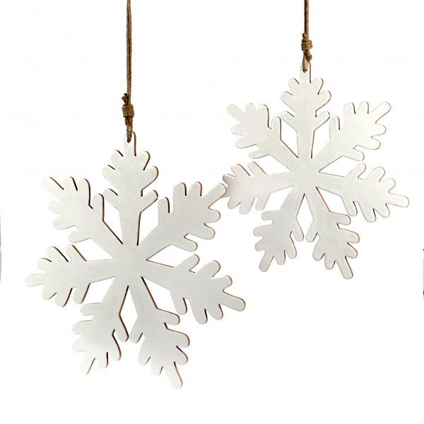 Eiskristall Bianco Holz,weiss emailliert