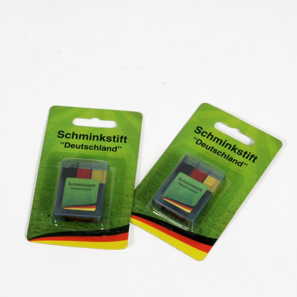 Schminkstift schwarz-rot-gelb Deutschland