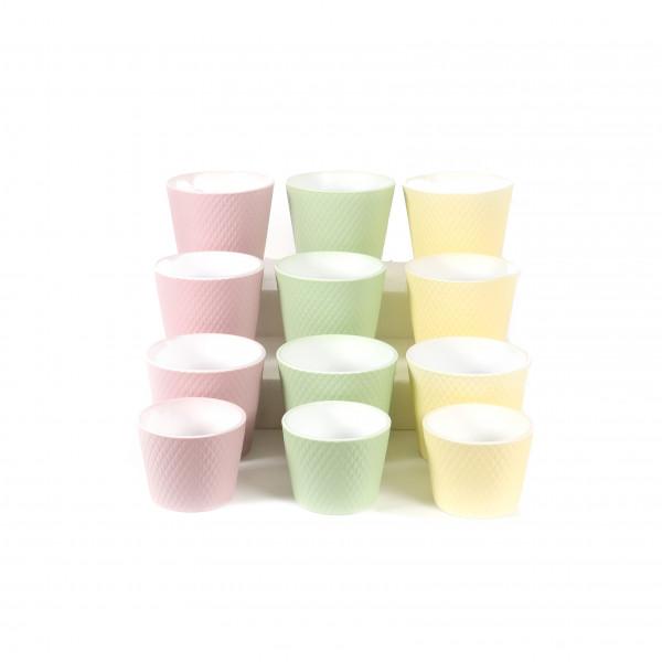 Keramik-Topf Harlekin