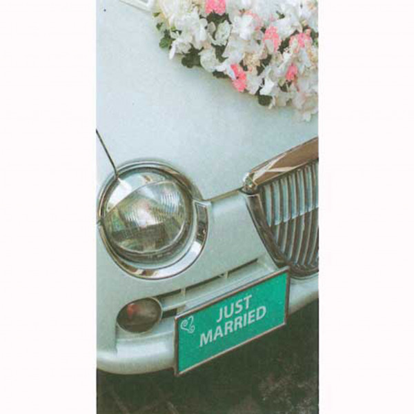 Display Banner Just married 90x180cm
