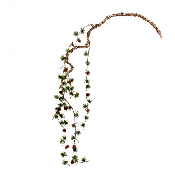 Kiefernast, hängend, 155 cm, gefrostet