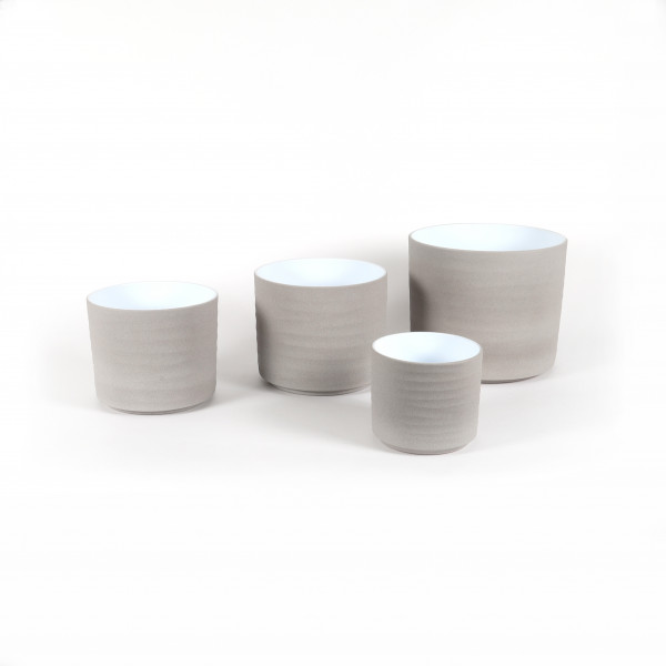 Keramik Zylinder-Topf Wave