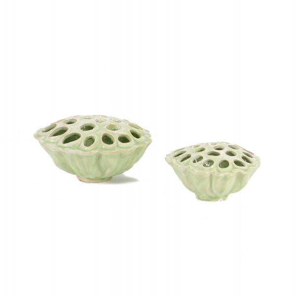 Keramik Lotus -Vase