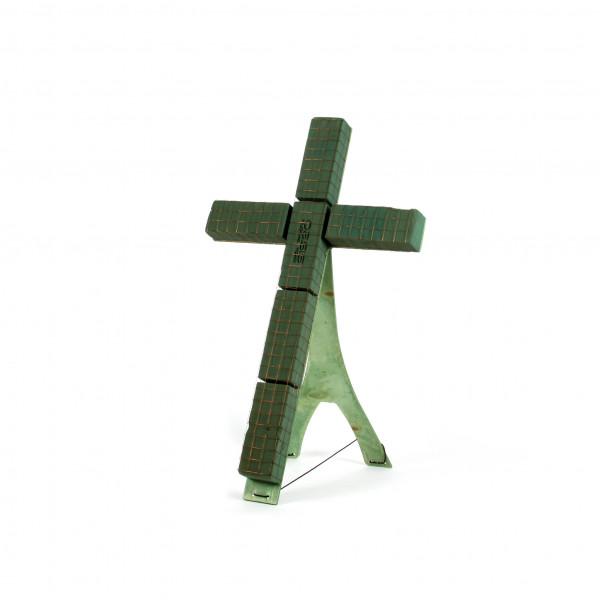 Oasis Bioline Kreuz m. Aufstel lvor. 85x50x5,5 cm