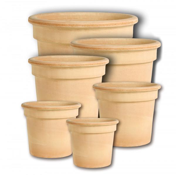 Terracotta Zylinder-Topf 55xh.47,5cm